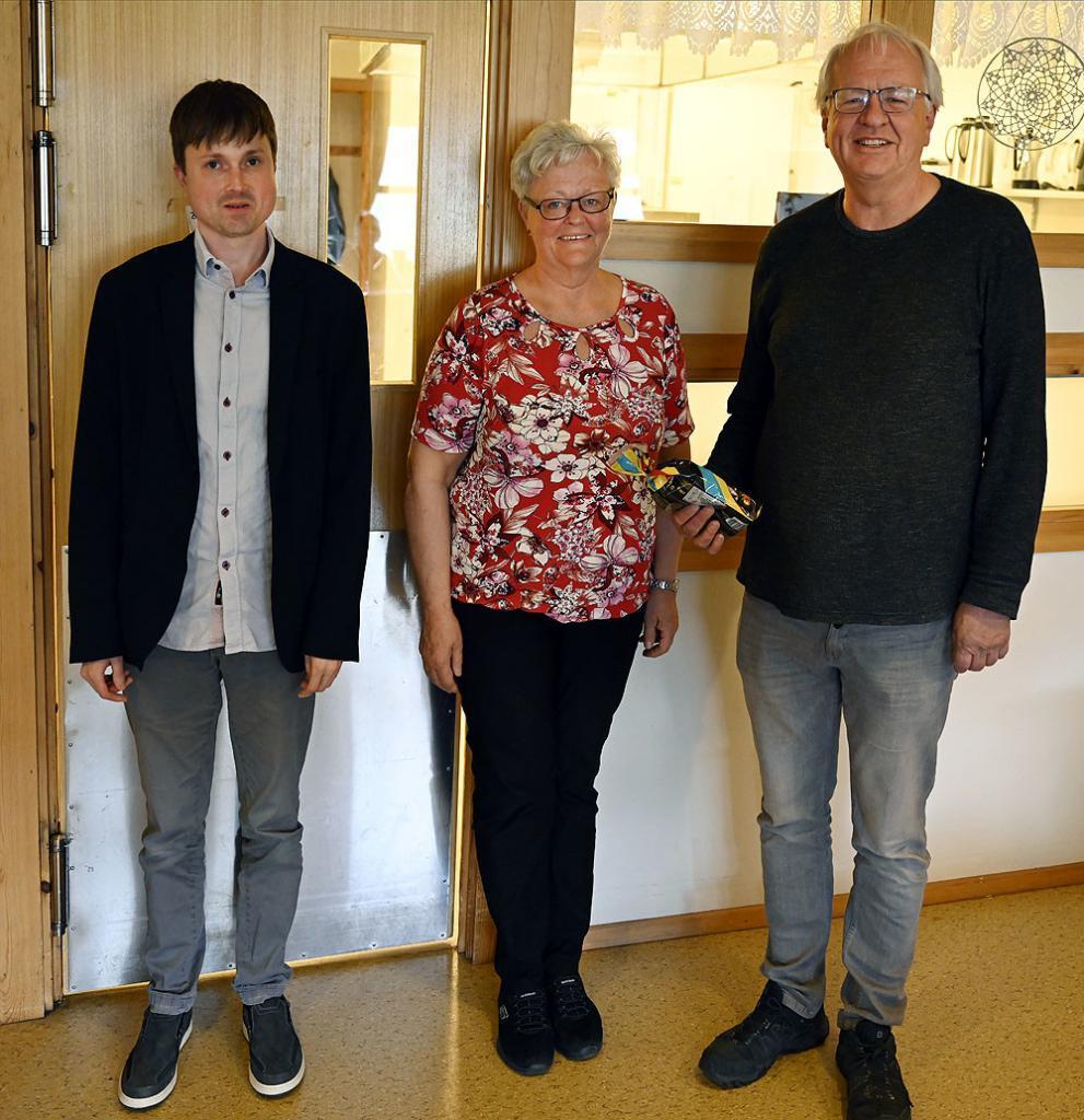 Anders Løberg, Ragna Bjørneskaret og Tore Samuelsen