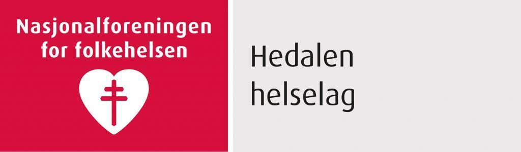 Hedalenen helselag sin logo