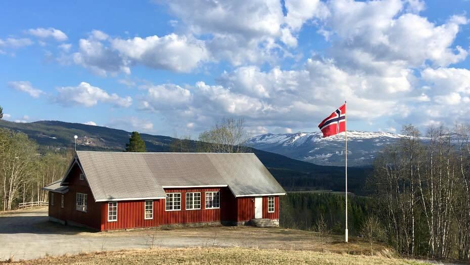 Nordre Lokalet i Hedalen. Foto: Hedalen ungdomslag