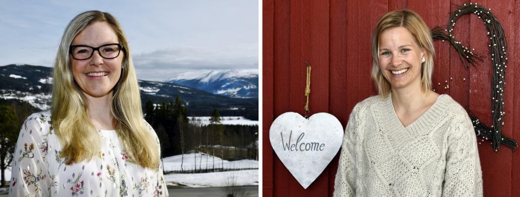 Vi er bosatt i Hedalen og vil gjerne gi informasjon om du vurderer å flytte til bygda vår. Marte Gørild Myrvang Ildjarnstad og Lena Aspmo Fossholt