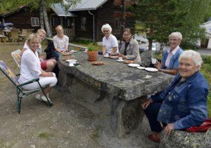Fra en aktivitetsdag på Bautahaugen