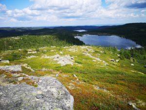 Utsikt mot Rennsjøen