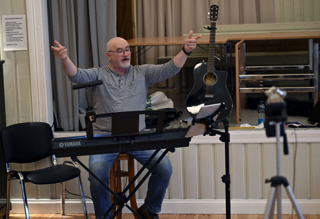 Kjell Ivar er dirigent