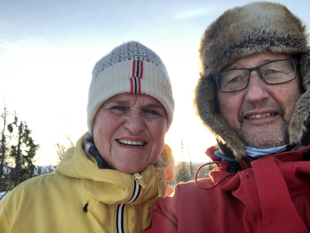 Jannicke Hexum og Stig Grydeland