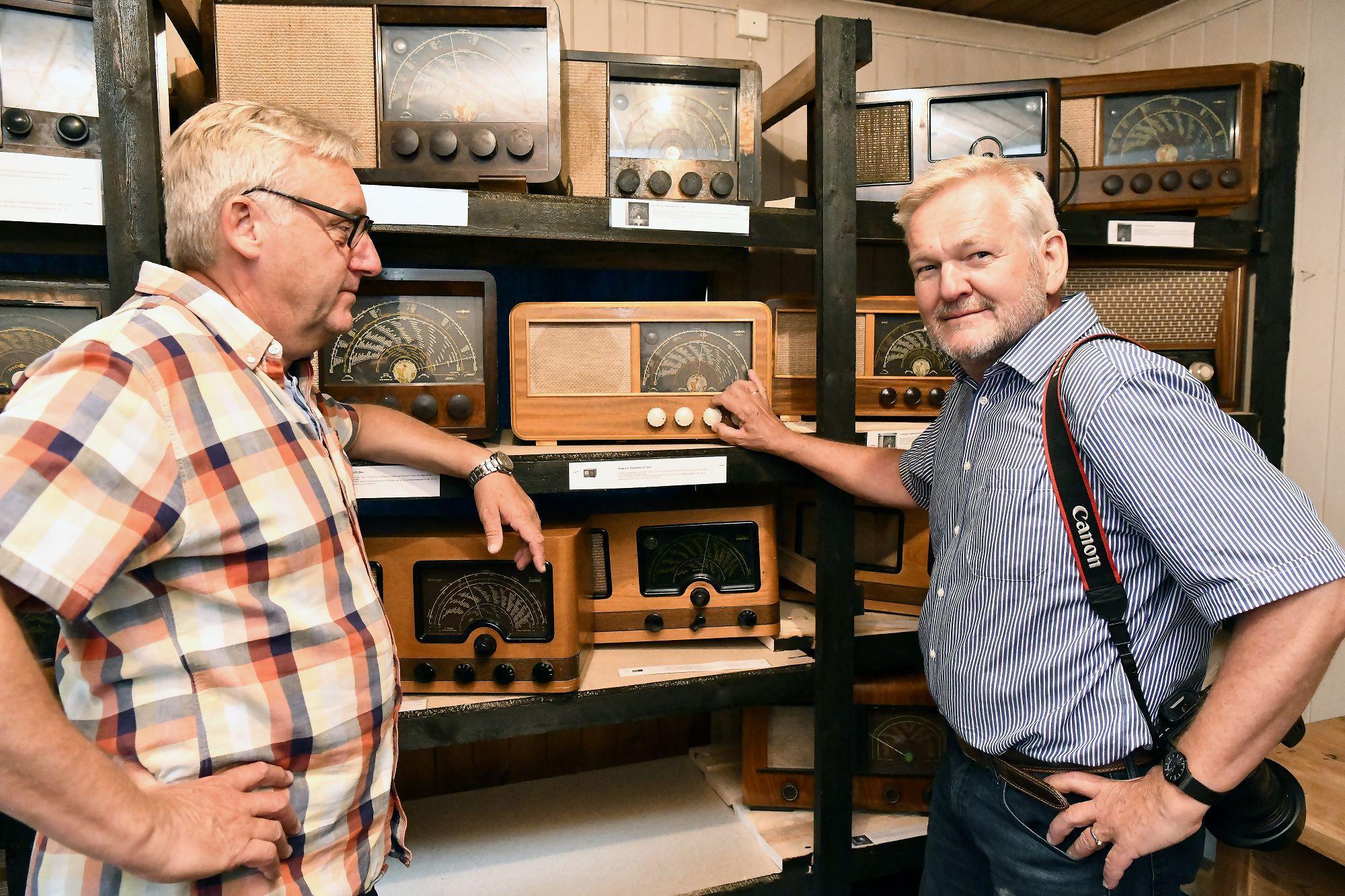 Fra åpninga av radiomuseet i 2018. Foto: Arne G. Perlestenbakken
