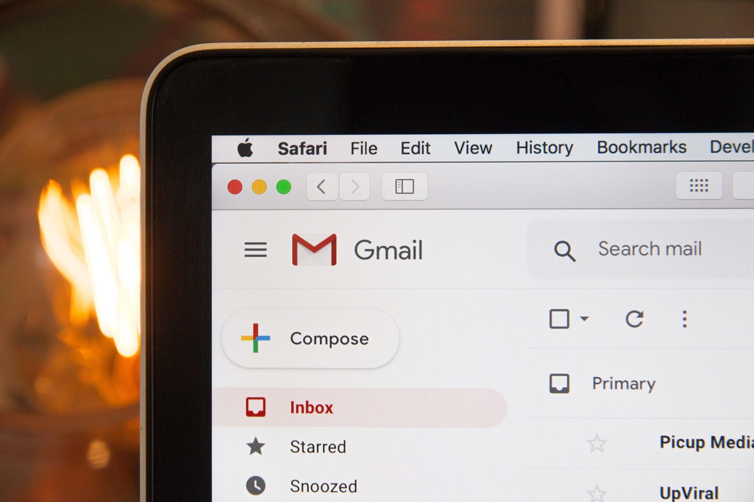 Illustrasjon til e-postsvindel