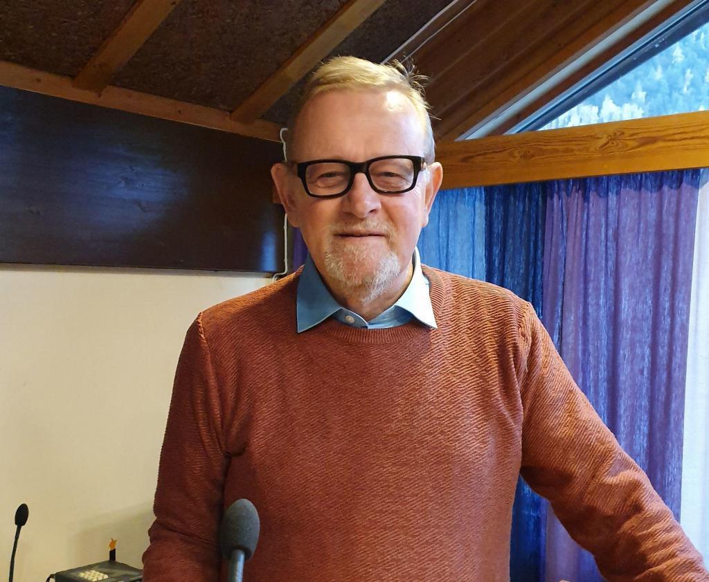 Finn Olav Teslo. Kommunestyrerepresentant for Ap. Foto: Arne Heimestøl