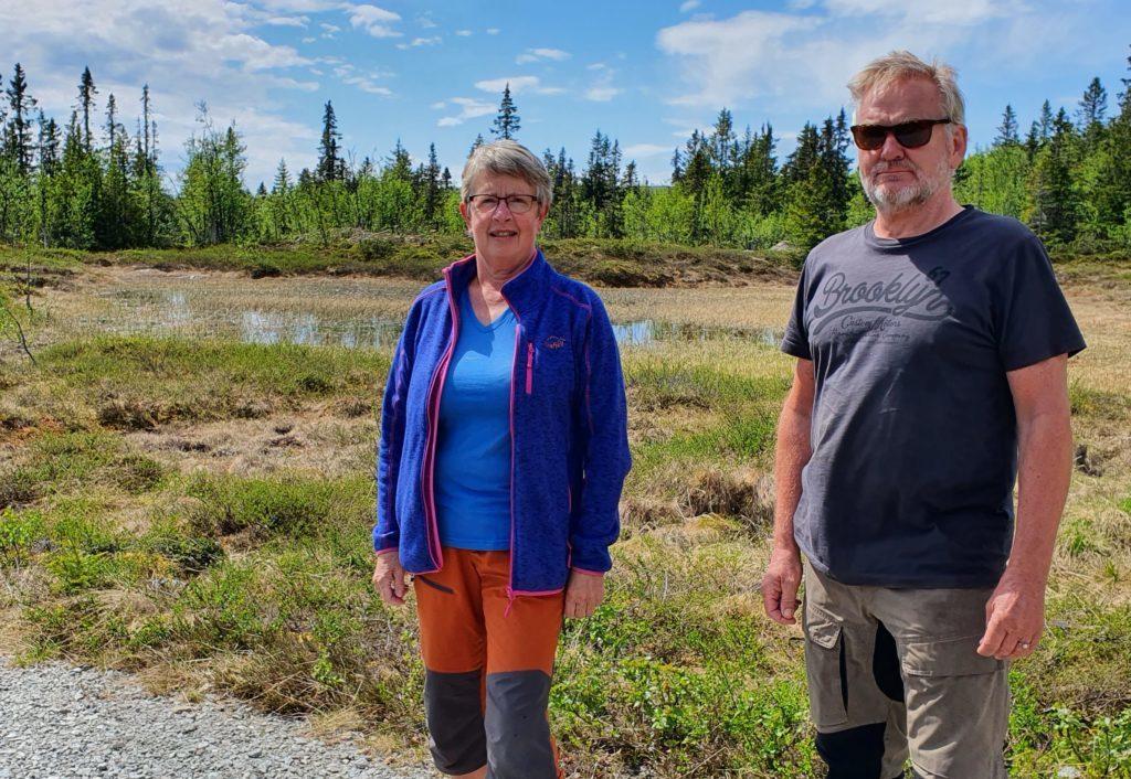 Helga Perlestenbakken og Svein Arne Nordby
