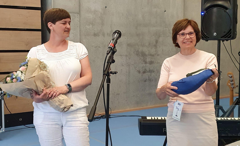 Marit Hougsrud og Karin Stegarud