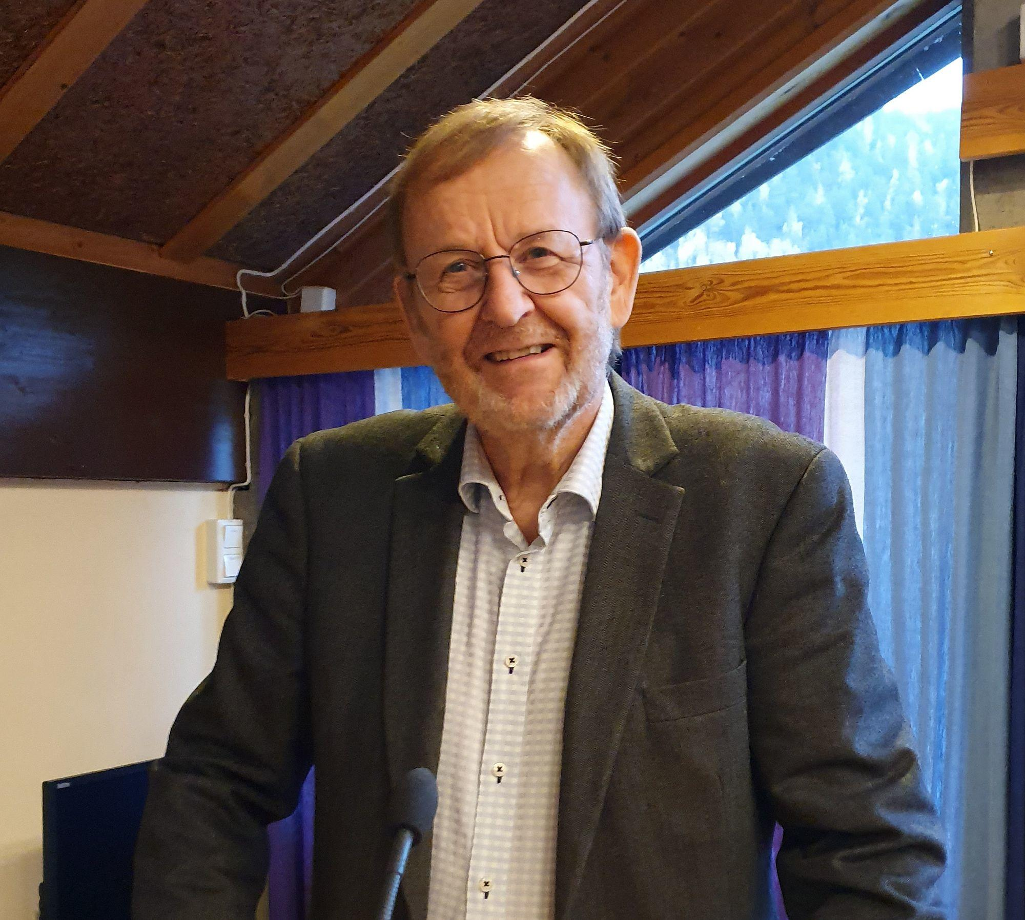 Kjell Eriksen. Foto: Arne Heimestøl