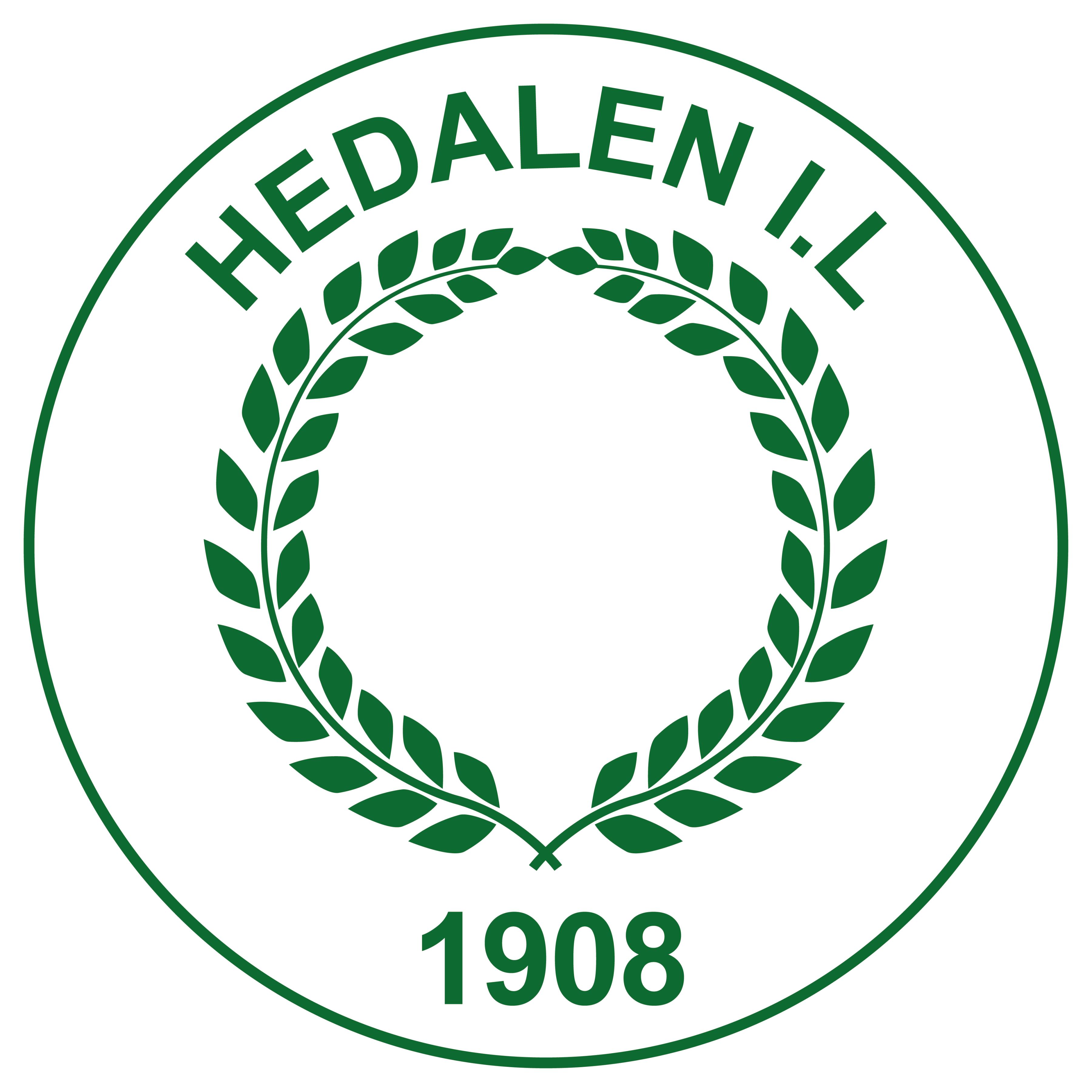 Logo til Hedalen idrettslag