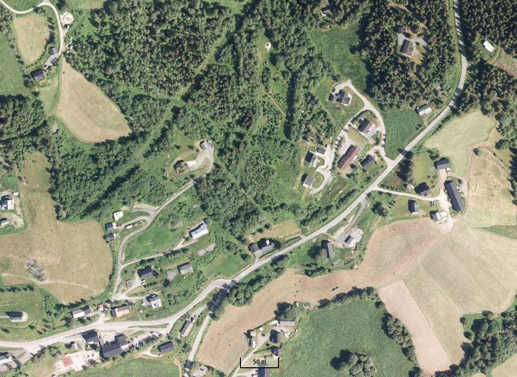 Googlefoto av området