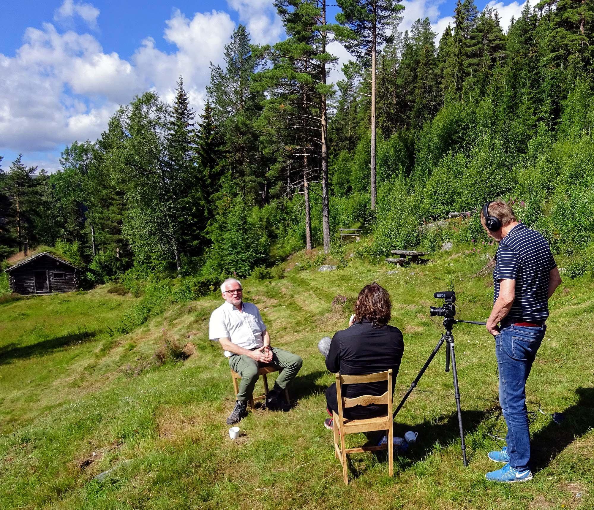 Cato Skimten Storengen intervjuer Arild Haglund