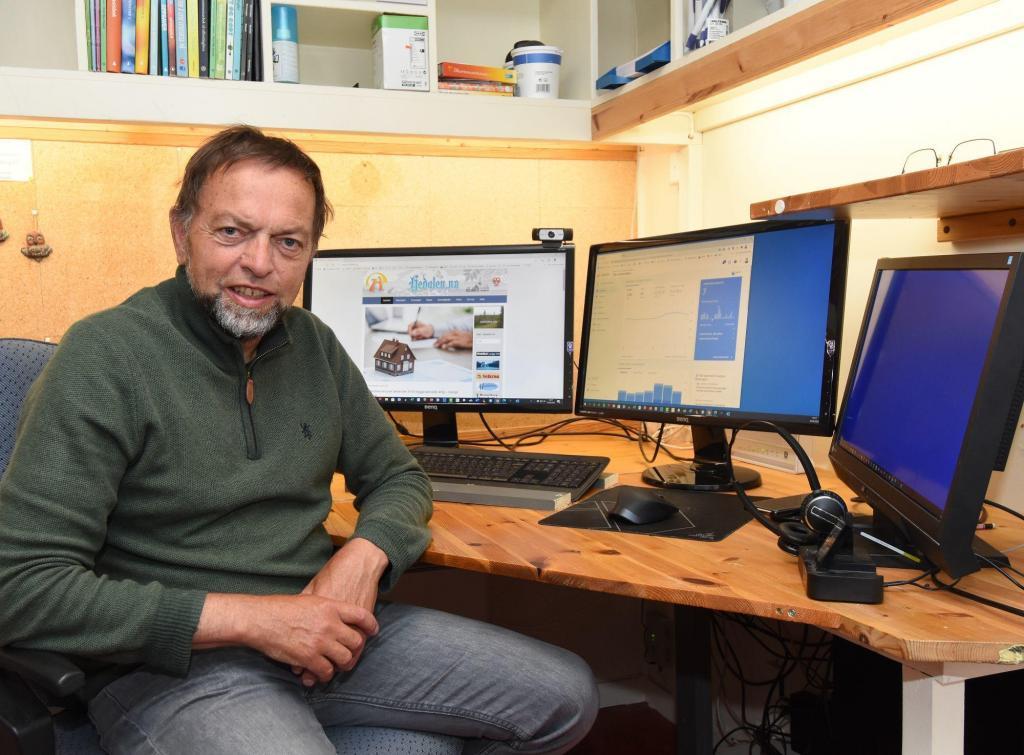 Redaktør Arne Heimestøl. Foto: Kjell Hallvard Flø