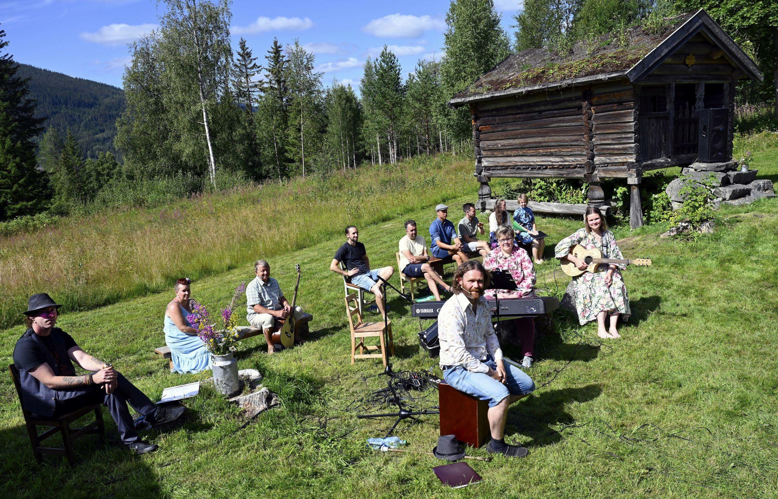 Aktørene. Foto: Arne G. Perlestenbakken