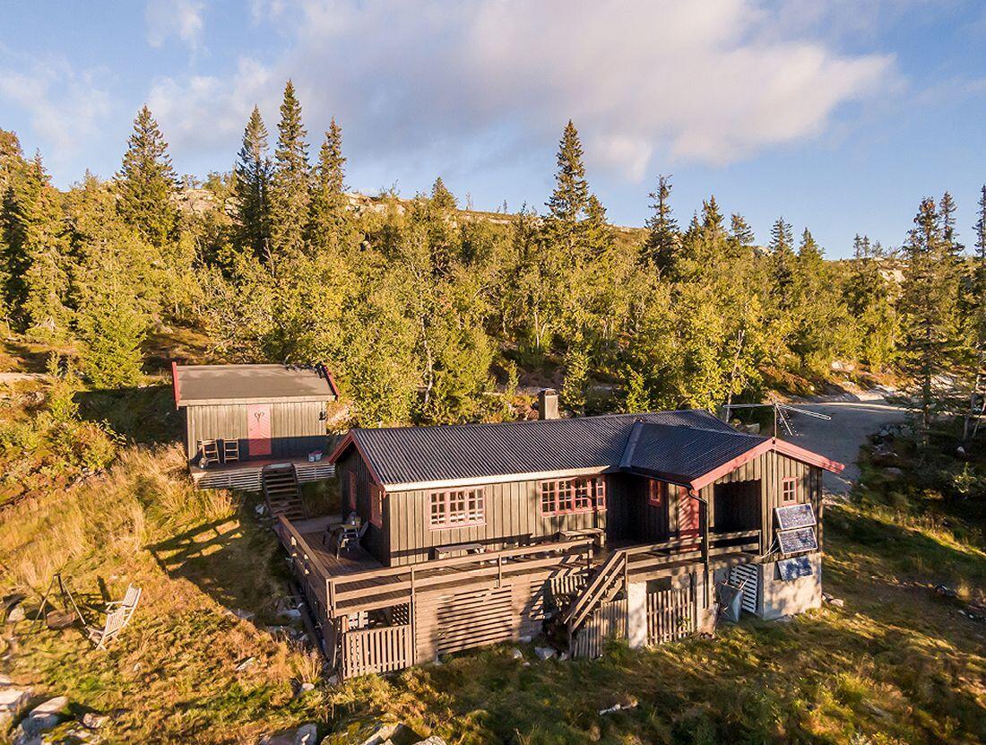 Hytte i Hedalsfjellet