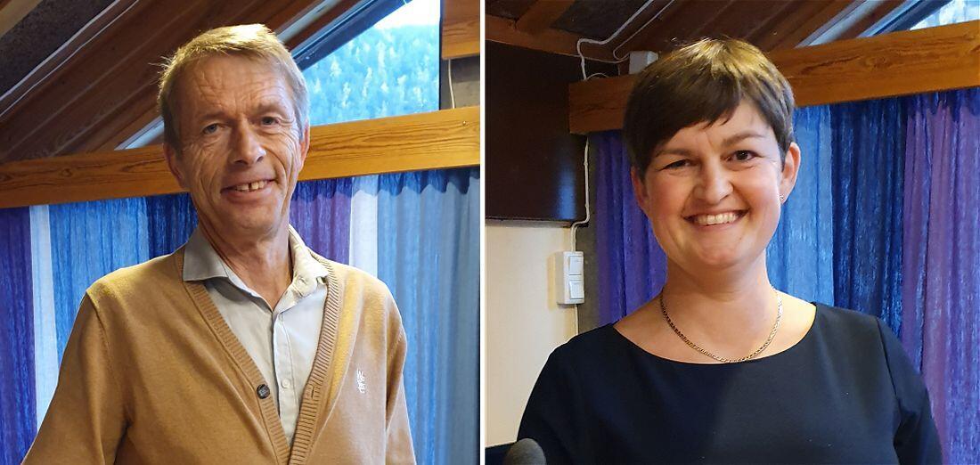 Ola Jonny Fosshold og Marit Hougsrud