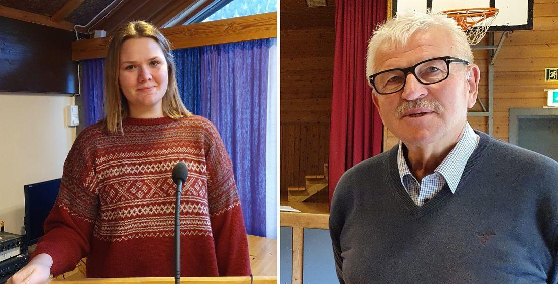 Anne Mathea Digene (Sp) og Elling Fekjær (TPK)