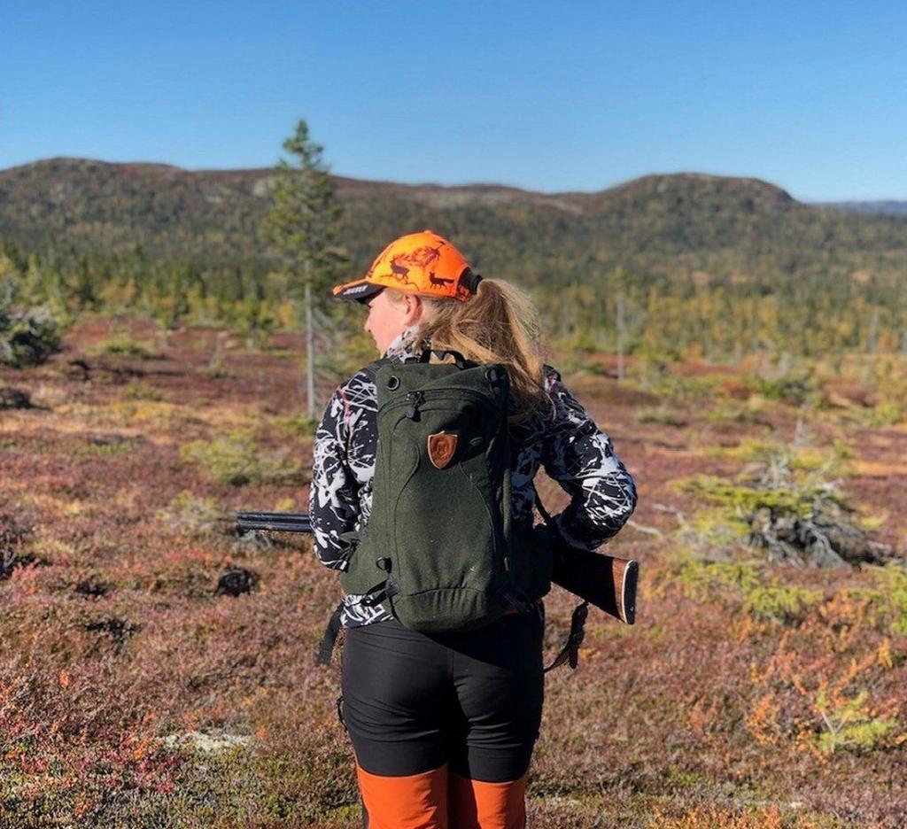 Gjertrud på jakt