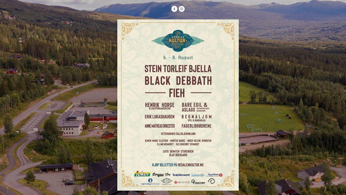 Hedalen kulturfestival 2021