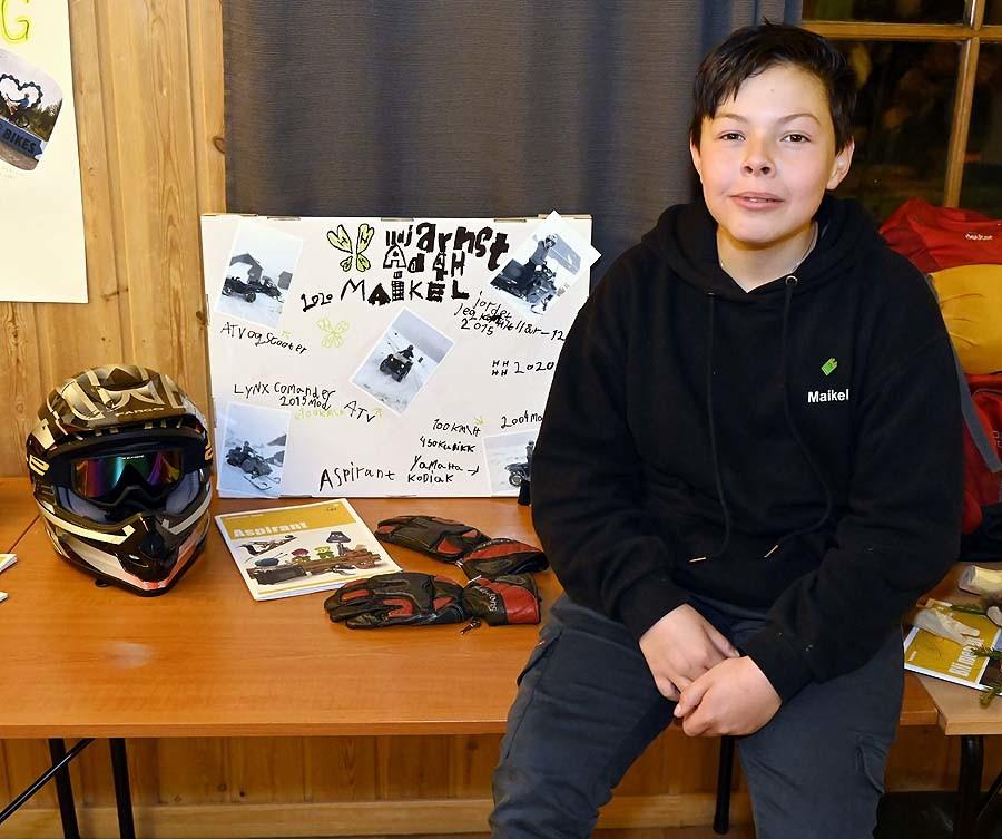 Maikel er aspirant og har hatt prosjekt om ATV