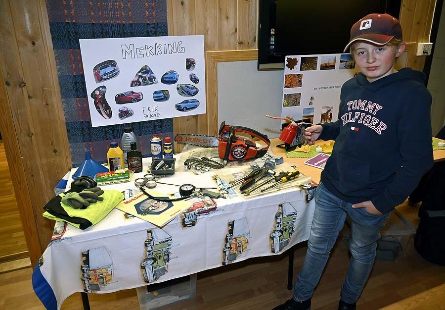 Erik har mekket både bil og andre kjøretøy