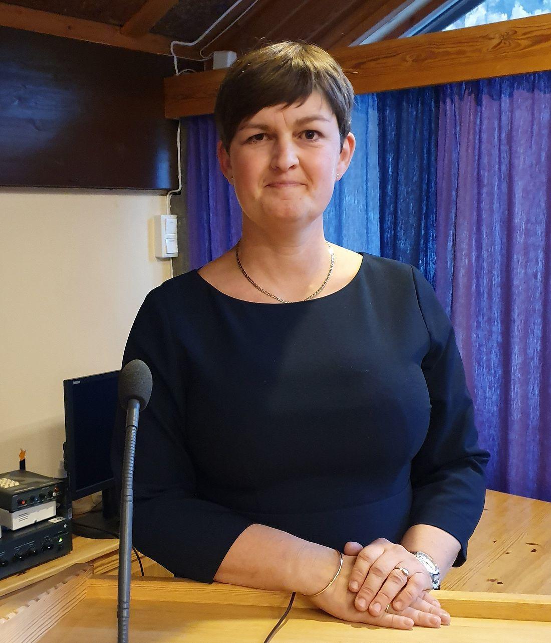 Ordfører Marit Hougsrud. Foto: Arne Heimestøl