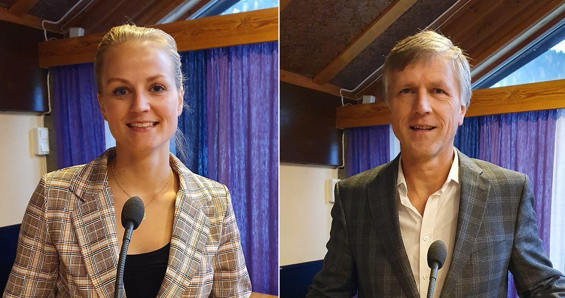 Magnhild Huseby Bolstad og Olav Kristian Huseby