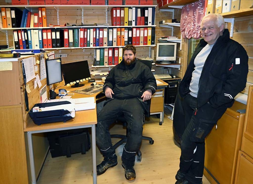 Espen Lia og Torgeir Kulterud. Foto: Arne G. Perlestenbakken