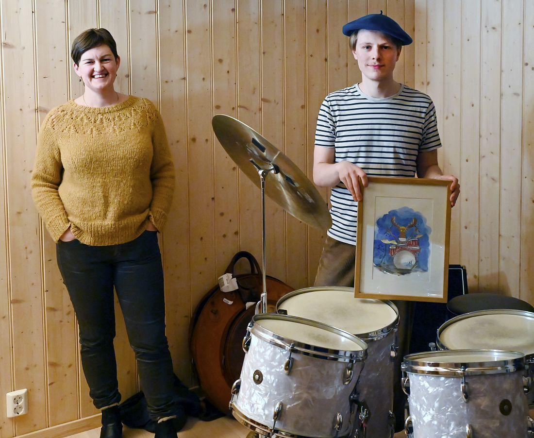 Marit Hougsrud og Ola Øverby. Foto: Arne G. Perlestenbakken