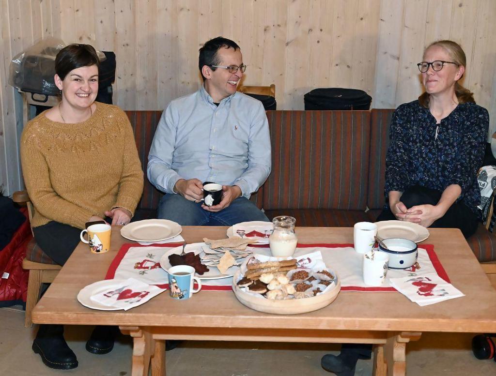 Marit, Knut og Ellen. Foto: Arne G. Perlestenbakken