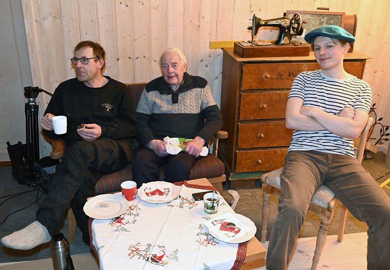 Geir, Martin og Ola: Foto: Arne G. Perlestenbakken