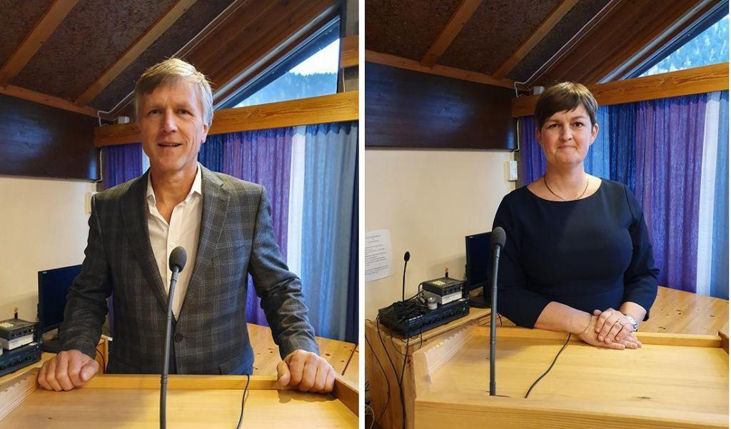 Olav Kristian Huseby og Marit Hougsrud