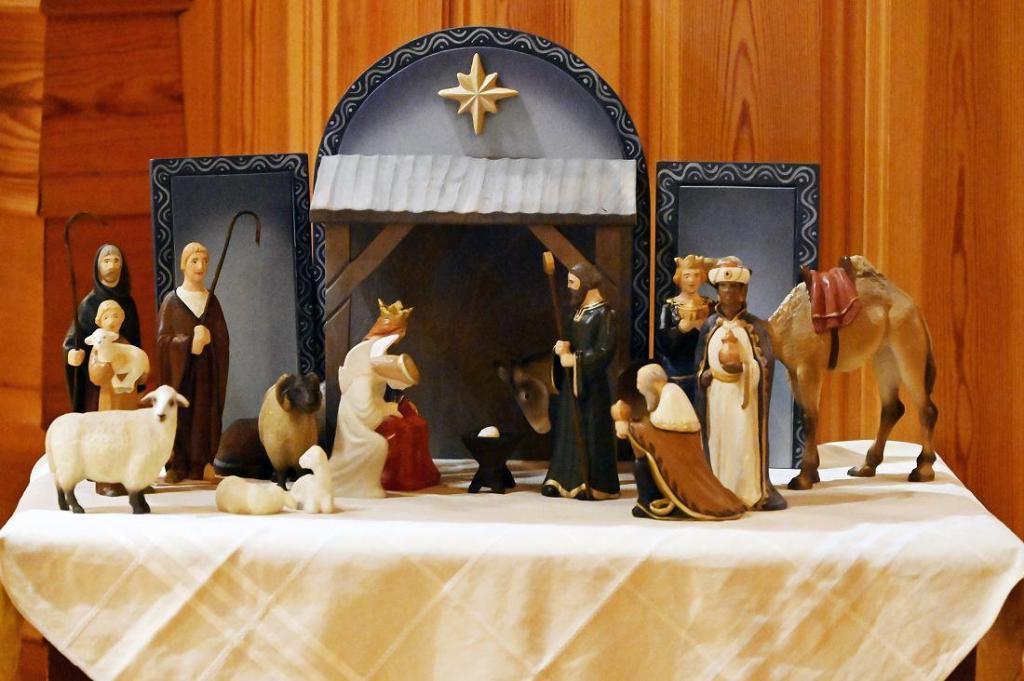 Julekrybba i Begnadalen kirke