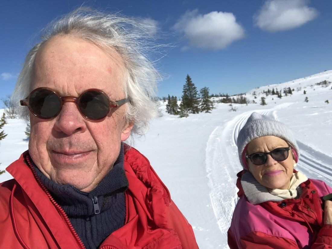 Gitte Magnus og Ingvald Garbo