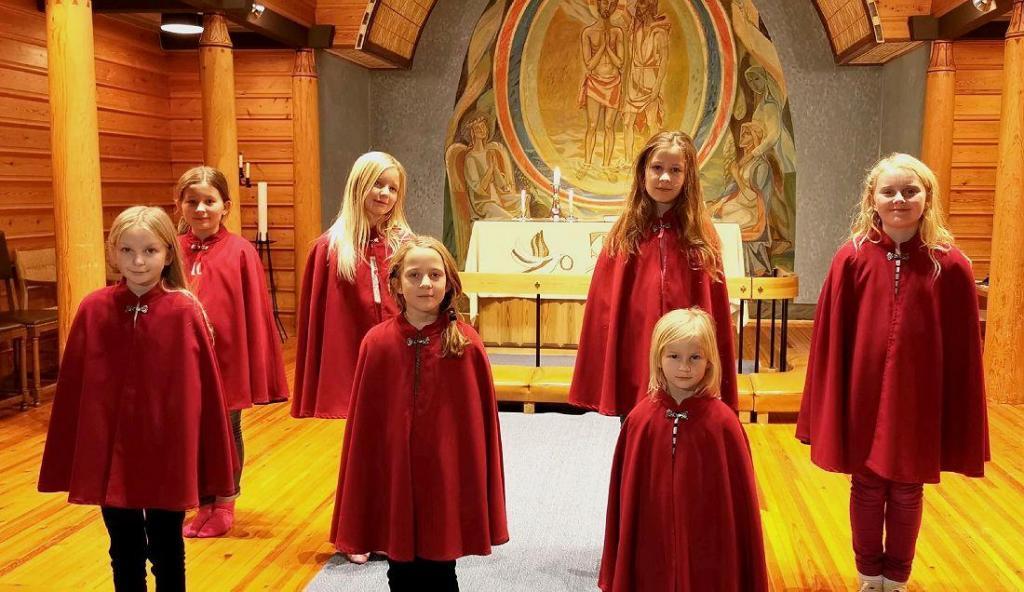 Begnadalen kirkes barnekor