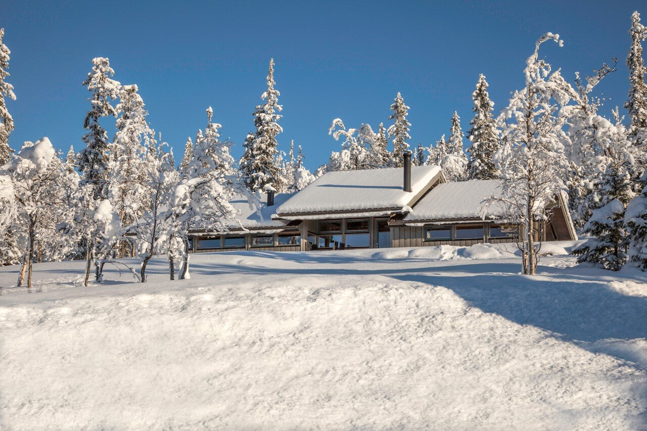 Hytte fra Hedda Hytter AS. Foto: Håvar Haug