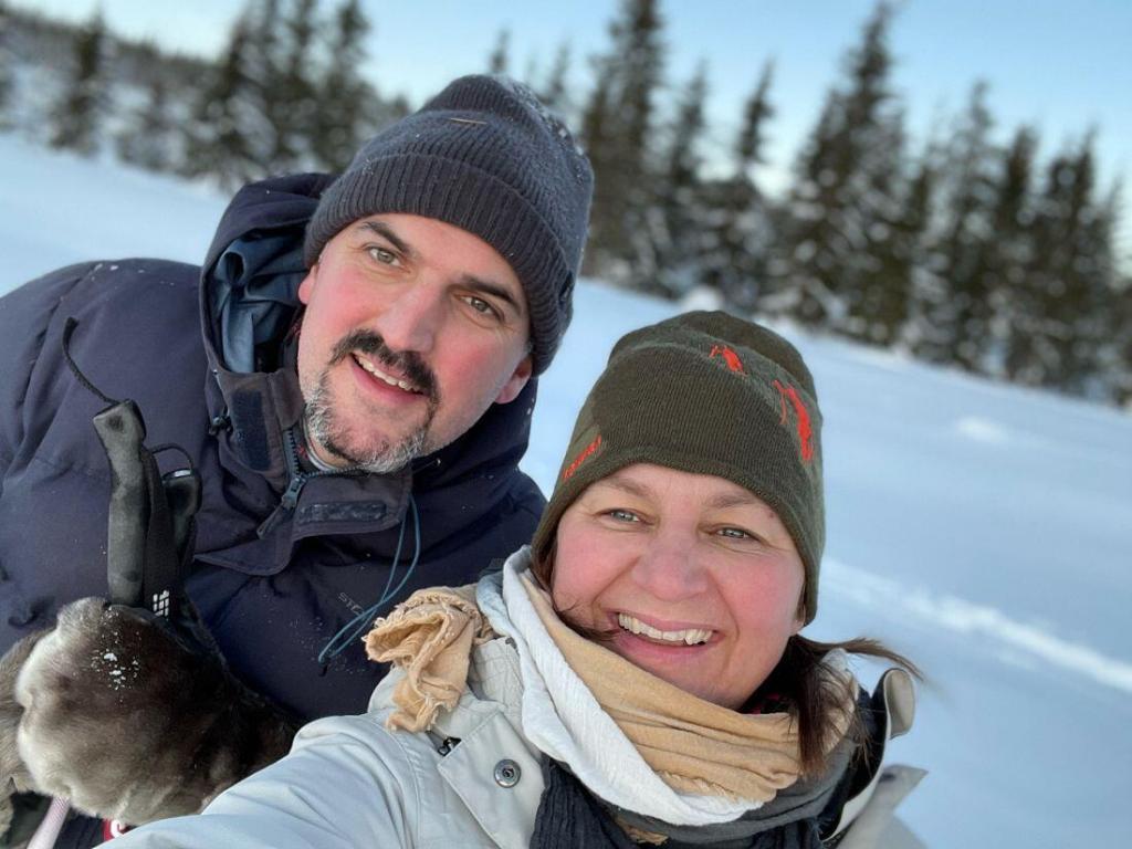 Sonja Bordewich og Kristian Grimsrud Strøm