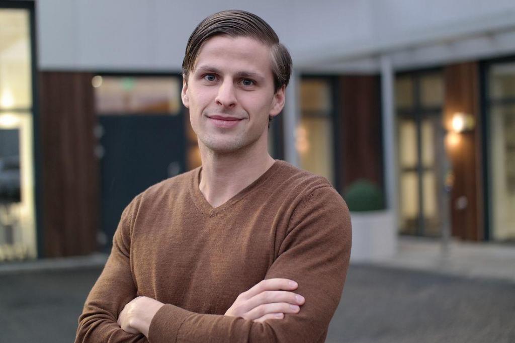 Simen Lokrheim, storkundeansvarlig i Kople