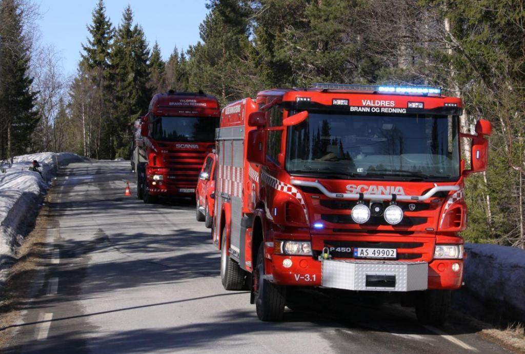 Brannbiler fra Hedalen