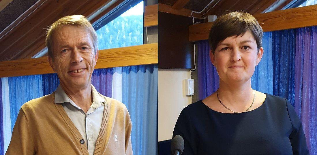 Olla Jonny Fossholt og Marit Hougsrud