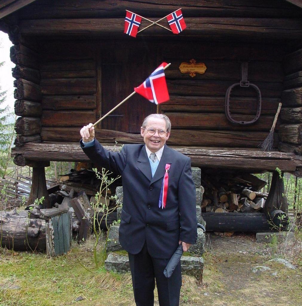 Harald med sitt gode humør