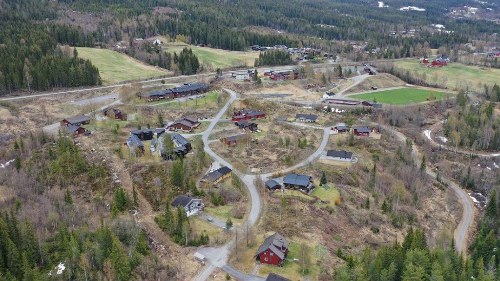 Brunbakklia og Skolehagen. Foto: Helge Nordby
