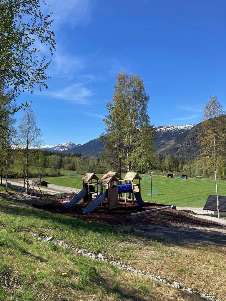 Fra aktivitetsparken. Foto: Øystein Fossholt