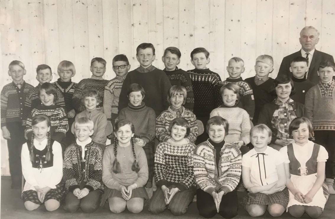 Skolebilde fra 1971–1972