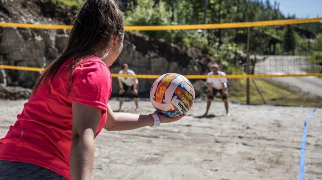Idrett er viktig på Fekjær psykiatriske senter