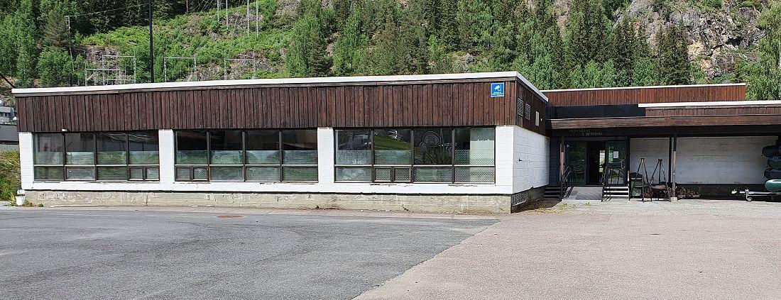 C-blokka på SAUS. Foto: Arne Heimestøl