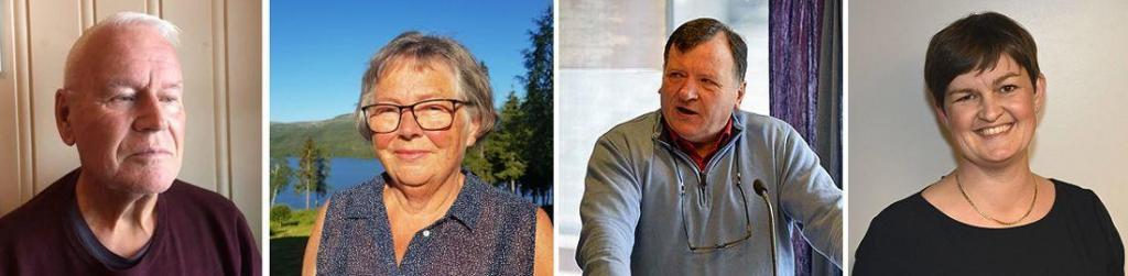 Reidar Schlytter, Emmy Bakkom, Magne Damslora og Marit Hougsrud