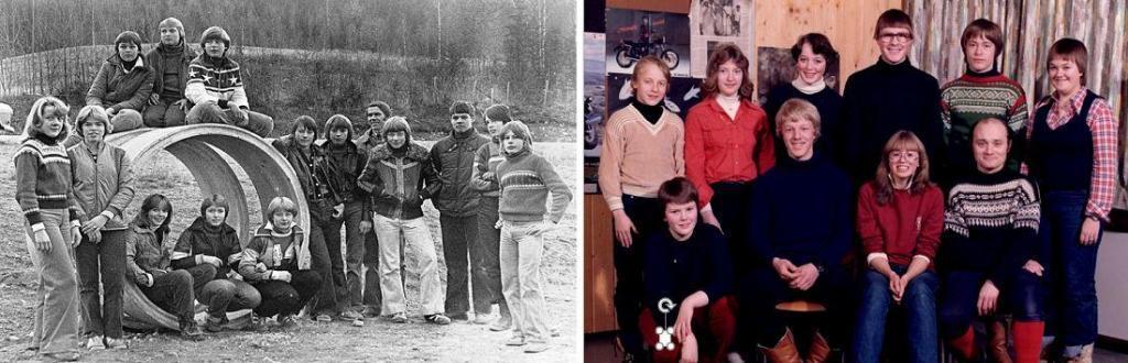 Skolebilder fra 1980 og 1981