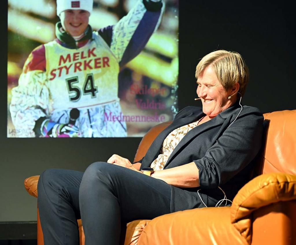Inger Helene Nybråten. Foto: Arne G. Perlestenbakken